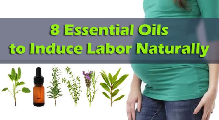 Essential Oils to Induce Labor Naturally