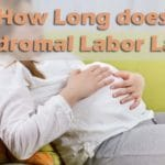 How Long does Prodromal Labor Last