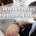 What causes prodromal labor