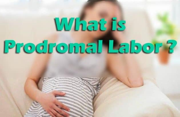 What is Prodromal Labor